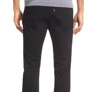 LEVI'S 510 Black Nightshine Skinny Jeans